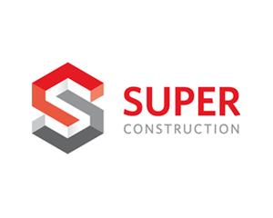 super inşaat logo tasarımı