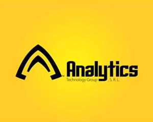 analytics teknoloji logo tasarımı