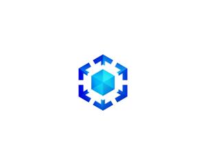 kübik teknoloji logo tasarımı