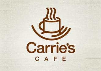kafe cafe logo tasarımı