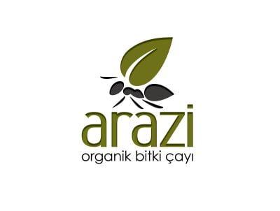 arazi bitki çayları organik çay logo tasarımı logosu