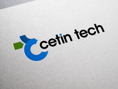 cetin tech teknoloji logo tasarımı logosu