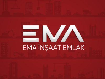 ema inşaat logotype logo tasarımı
