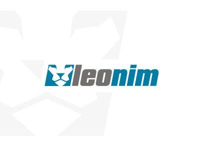 leonim bilişim yazılım aslan logo tasarımı
