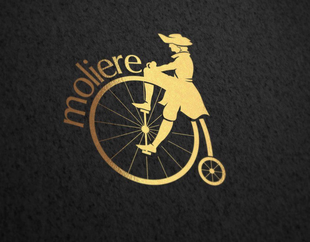 moliere cafe logo tasarımı kafe logosu