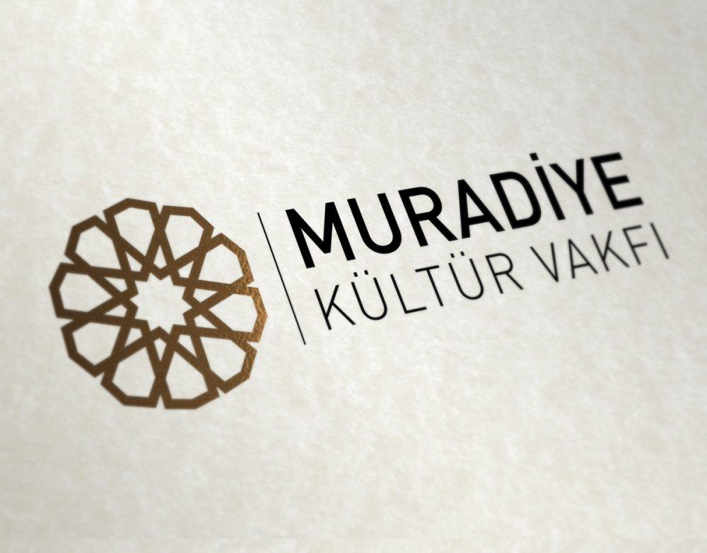 muradiye kültür vakfı vakıf logo tasarımı kurumsal kimlik logosu