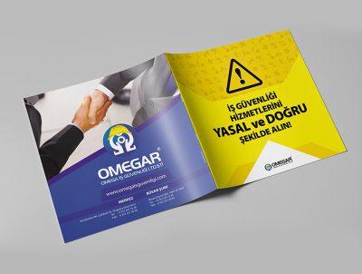 omegar iş güvenliği 2017 katalog tasarımı