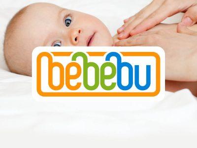 bebebu bebek ürünleri satış mağazası logo tasarımı