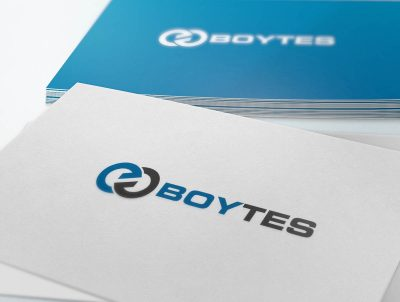 boytes boya tesisi logo tasarımı