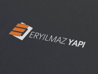 eryılmaz yapı inşaat e logo tasarımı logosu