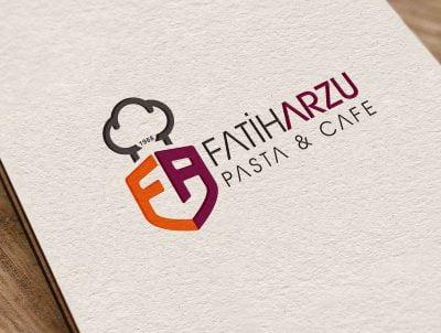 fatih arzu pastanesi logo tasarımı pastane logosu
