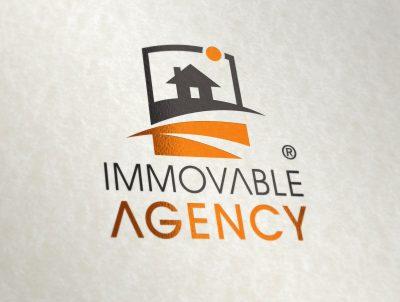 immovable agency gayrimenkul yatırım danışmanlığı logo tasarımı