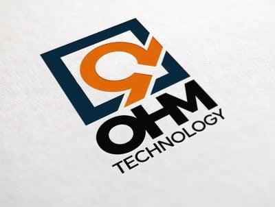 ohm teknoloji amper logo tasarımı logosu