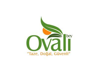 ovalı bey şarküteri logo tasarımı